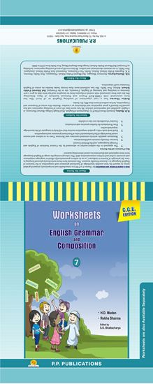 Picture of English grammar-WS-7